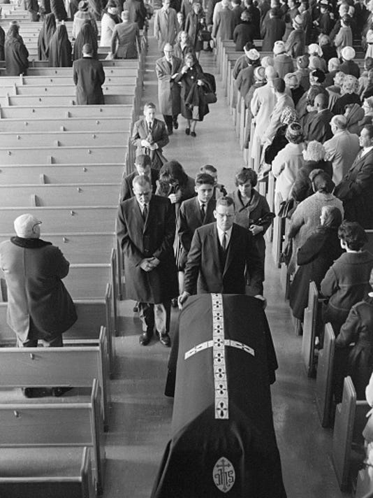 Family of Viola Liuzzo at Funeral