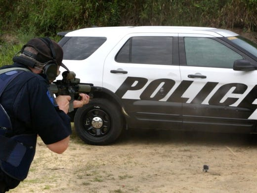 2018 Michigan State Police Vehicle Testing >> Nation's most popular police car is now an SUV