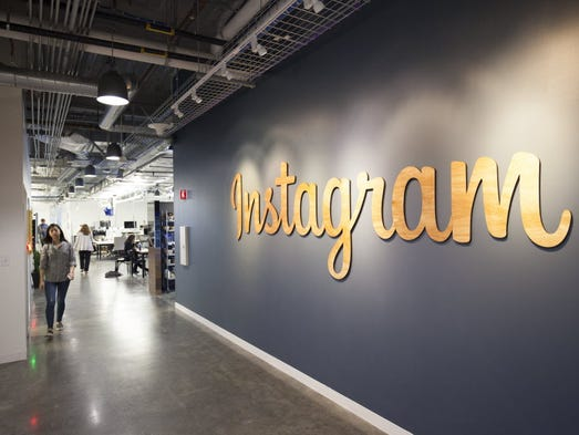 The Instagram offices on Facebook's  Menlo Park, Calif.,
