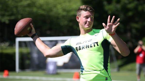 California native Blake Barnett verbally committed to Alabama in June.