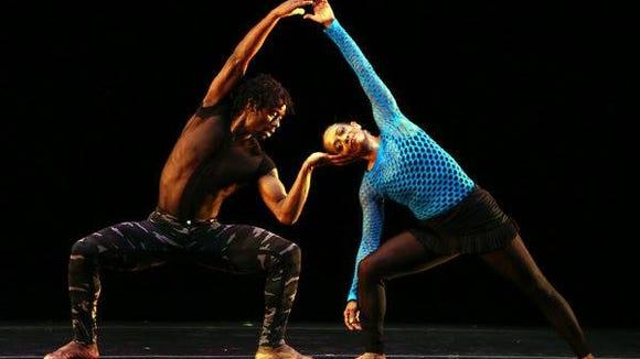 Vitolio Jeune and Natalie Rogers-Cropper, Garth Fagan Dance