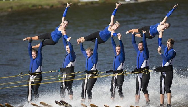 The Wisconsin Rapids Aqua Skiers will compete in the 16th Division 2 Show Ski Nationals Saturday in Warsaw, Ind.
