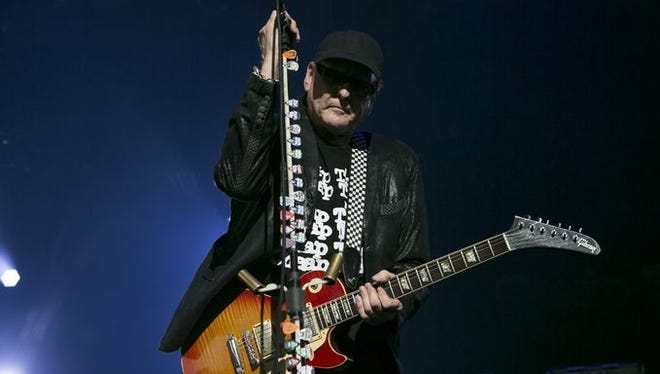 Rick Nielsen of Cheap Trick at Ak-Chin Pavilion, opening the Rock Hall Three For All.