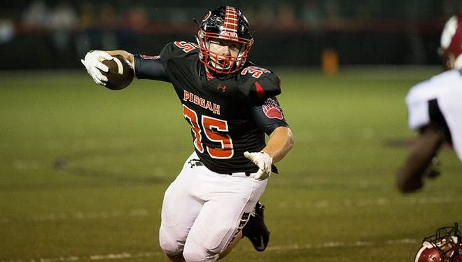 Michael Parrott and Pisgah are 6-0 as is Tuscola.