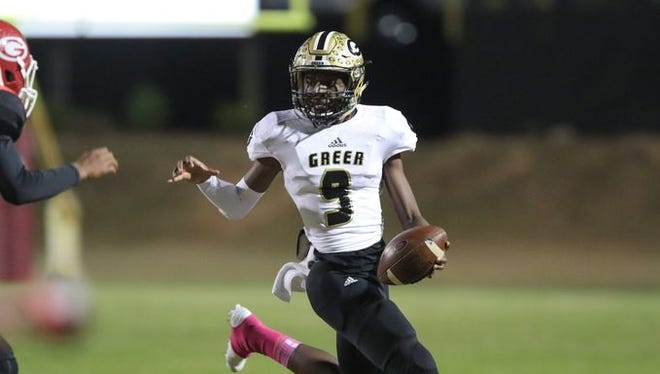 Greer traveled to face Union County as part of Week 9 of the high school football season.