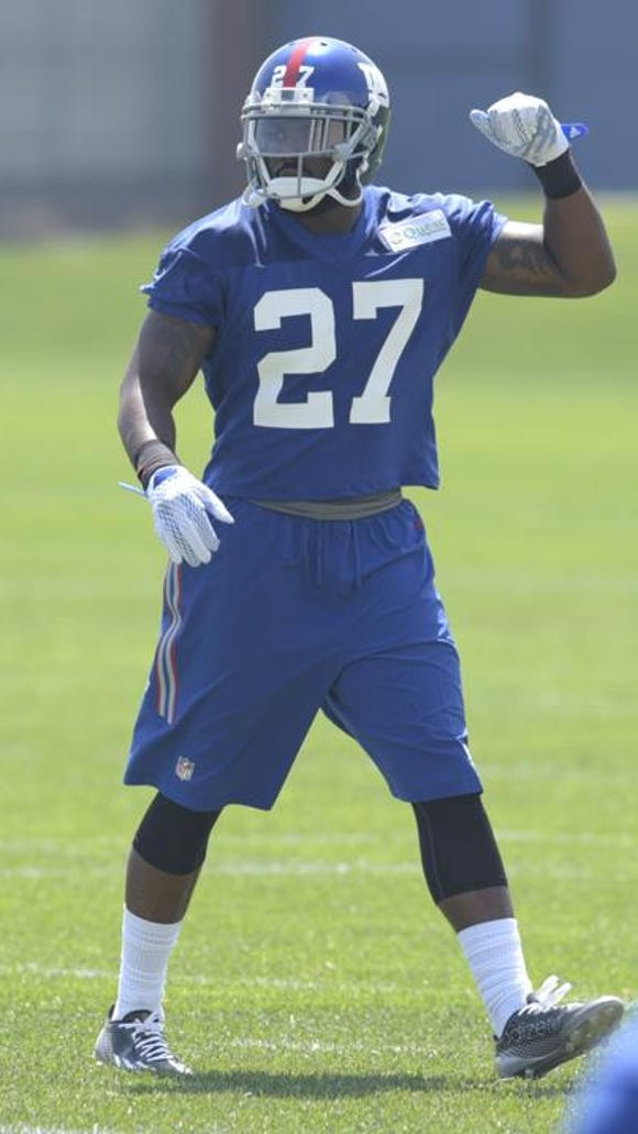 Rookie Landon Collins is looking to do more than make tackles inside the box for the New York Giants.