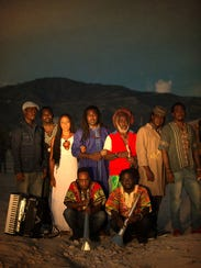 Lakou Mizik, a Haitian band signed to the Charlotte-based