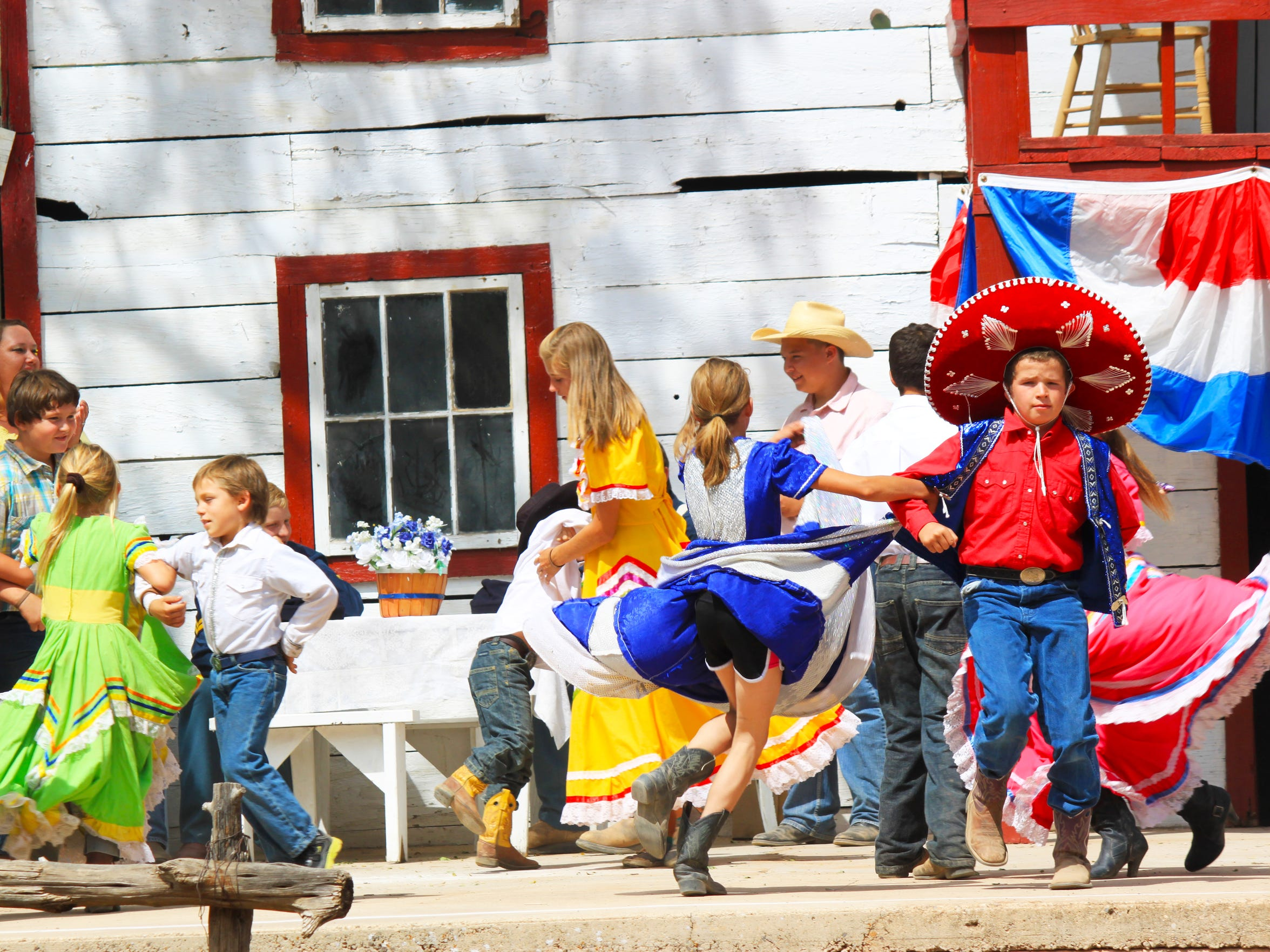 Lincoln Historic Site includes 23 structures and support buildings, 17 which are on the National Historic Registers. These buildings will be the sites welcoming thousands this weekend filled with blacksmithing, gun fights, dancing and more.