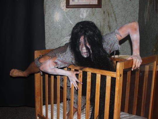Volunteer actor Kellie Phong as Sanctum of Horror's