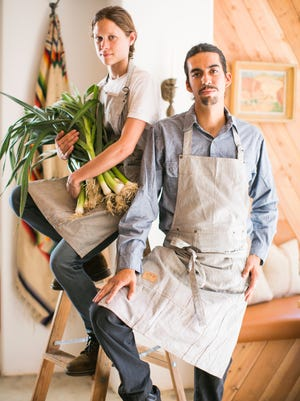 Chefs Gina and Omar take pride in the food they prepare at Ojai Harvest.