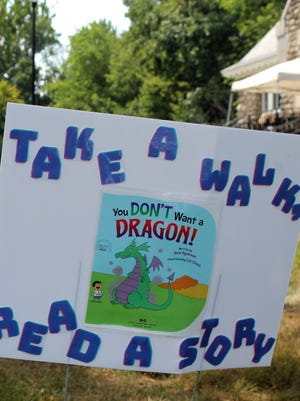The cover of the book from the Boylston Public Library book walk.