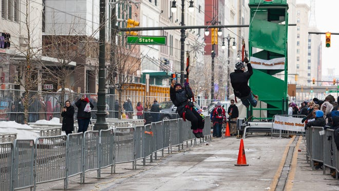 The Meridian Winter Blast returns to downtown Detroit Feb. 12-14, 2016.