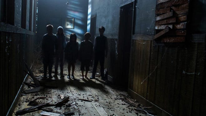 "Child ghosts haunt an abandoned farmhouse in ""Sinister 2."""