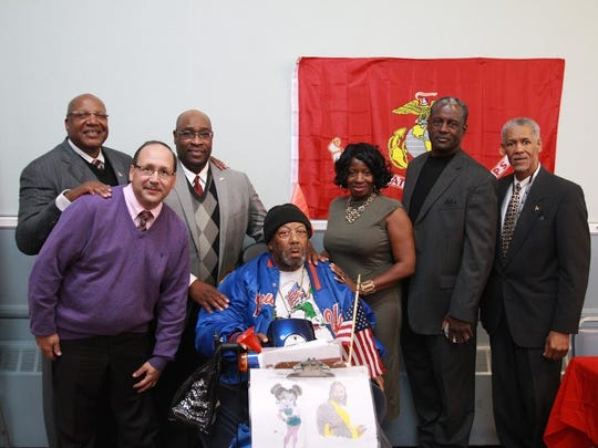 The Yates House for Military Veterans (YHMV) honored