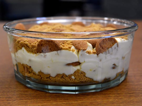 Larry Zelisko's entry was the clear winner in the Reporter-News banana pudding contest.