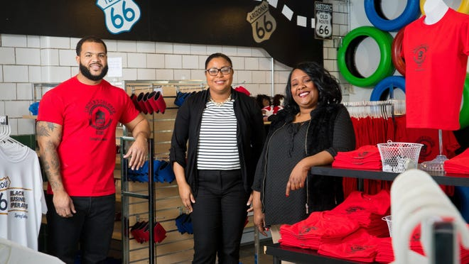 Kenneth Lockhart, Stacy Grundy and Gina Lathan are co-owners of Route History, a museum and visitors center at 737 E. Cook St. that focuses on the history of African-American commerce, especially as it relates to Route 66 and the Springfield area.
