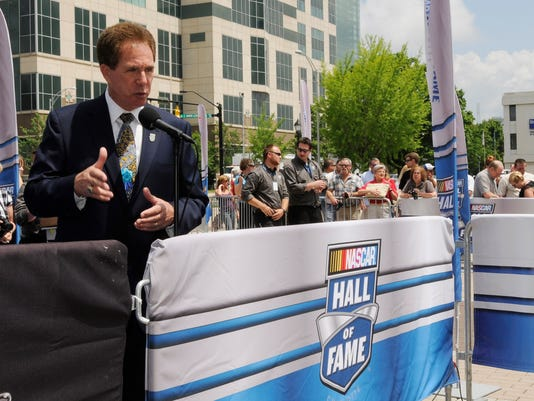 NASCAR Sprint Cup Series: The 2010 NASCAR Hall of Fame Inaugural Induction Ceremony