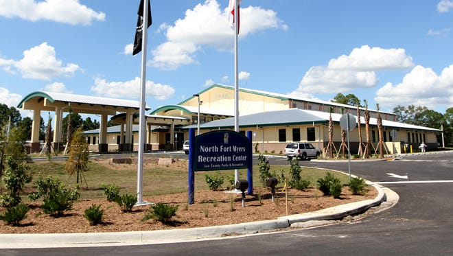 The North Fort Myers Recreation Center is home to lots of summer camp activity.