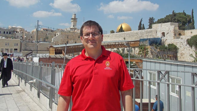 University of Wisconsin-Madison engineering professor Dante Fratta visited Israel in July as part of a team of experts surveying the Church of the Nativity in Bethlehem.