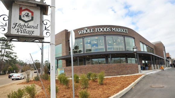 Jackson's Whole Foods Market at Highland Village is among the stores that will start rating suppliers based on the farming methods they use.
