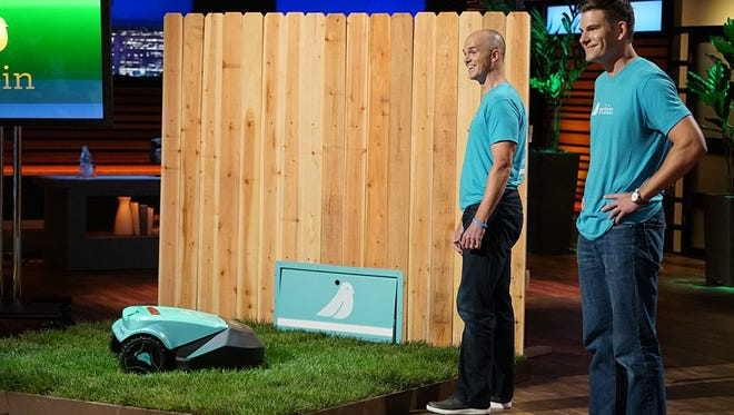 """Bart Lomont (right), a Purdue alum, and Justin Crandall will present their business model to """"Shark Tank"""" Sunday."""
