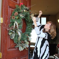 Janet Stewart continues to decorate for the holidays each year in the same tradition as when her husband was alive.
