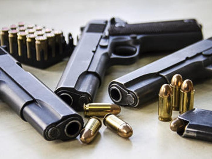 Nearly 5,000 guns were collected last weekend during