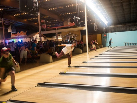 Rock 'N' Bowl is part bowling alley, part live music
