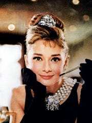 A publicity still of Audrey Hepburn in   Breakfast