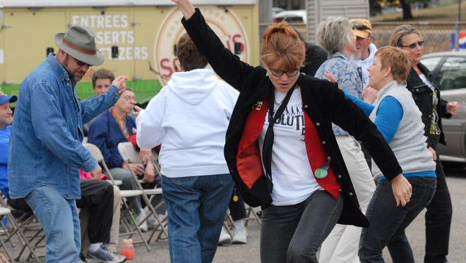 You'll get a chance to dance at the St. Mary's Cathedral Block Party on Sept. 10.