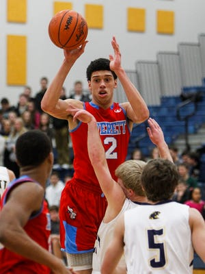 Everett's Trevor Manuel is one of three Mr. Basketball finalists.