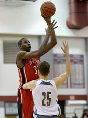 Jaren Jackson Jr. (32) plans to leave Park Tudor  to attend LaLumiere, a prep school in LaPorte.