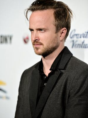 "Actor Aaron Paul played Jesse Pinkman on ""Breaking Bad.:"