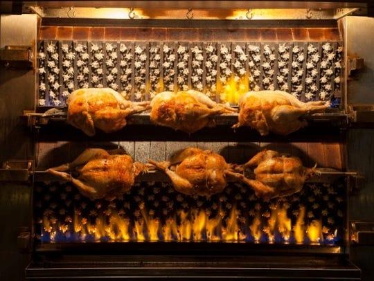 le coq chicken roasting