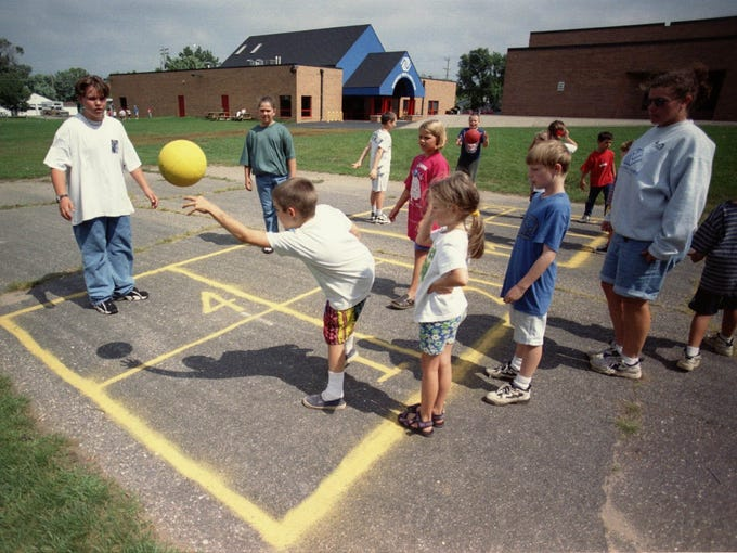 1997: A group of students at Roosevelt KIDSTOP played