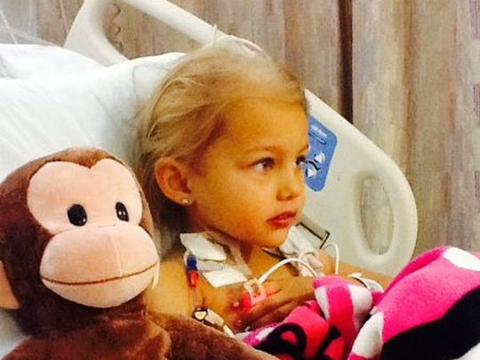 "Since April, 5-year-old Desirae ""Desi"" Cechin has undergone four rounds of chemotherapy to help control her stage IV ""high risk"" neuroblastoma, a unique and rare cancer, most common in very young children."