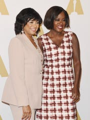 Cheryl Boone Isaacs, left, and best supporting actress