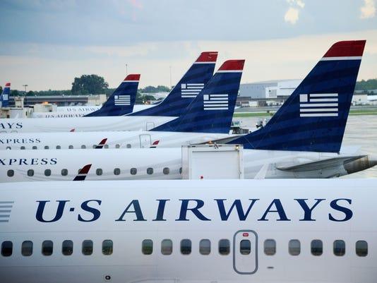 U.S. Airways planes