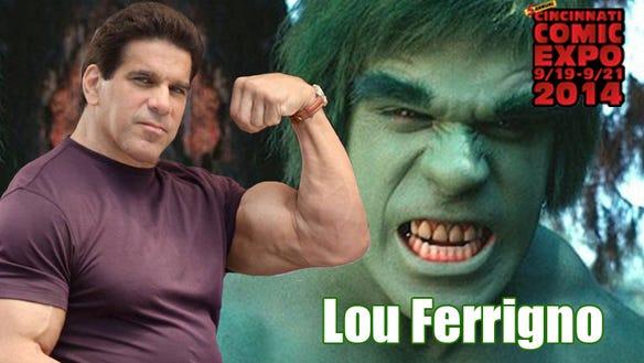 Lou Farrigno Banner Comic Expo 2014