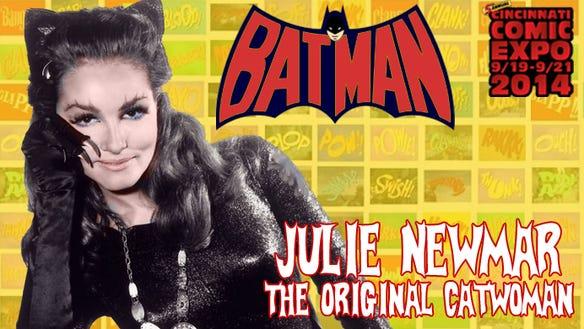 Julie Newmar Comic Expo Sept 2014