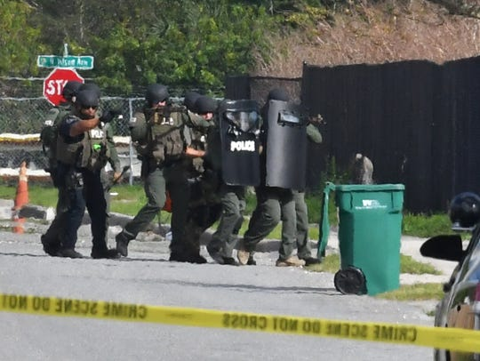 Cocoa Police and the BCSO SWAT Team responded to a