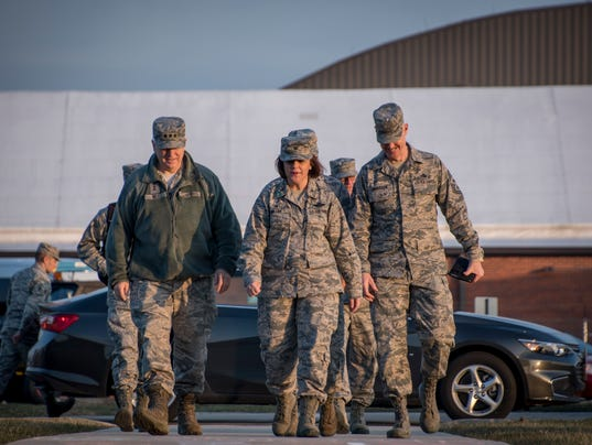 Director of the Air National Guard visits 179th