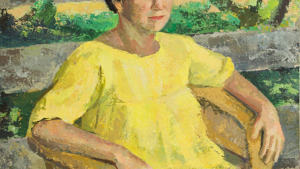 Elsie DoreyUpham (American, b. 1907) Olga Hirshhorn