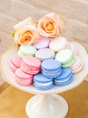 French macarons from Antoinette Boulangerie in Red