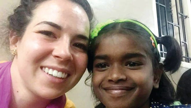 Jamie Urban helped her father build a solar-power system for an orphanage in India two years ago.