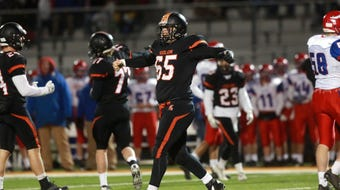 An Iowa football signee, Solon's Tyler Linderbaum starred for the Spartans in football, wrestling, baseball, and track and field.