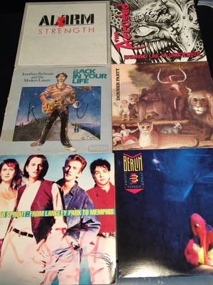 Here are some of the buried treasures Jeffrey Pederson has found through crate digging.