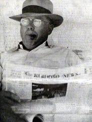 After founding the Ruidoso News with his wife, Ida
