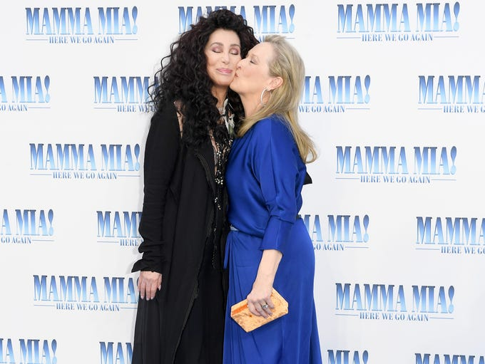 Cher and Meryl Streep gave the love to each other at