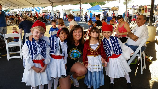 """9/29-10/1 A Taste of Greece: Fun, music and authentic Greek food make up the festival that will have guests saying """"Opa!"""" Eat homemade dishes such as dolmathes, spanakopita, pastichio and lamb while listening to live music and watching performances by Greek folkdancers. There will be indoor and outdoor dining, raffles, Greek imports and a kids' fun zone. Free shuttle parking is available at Seton High School. Details:5-10 p.m. Friday, Sept. 29; 11 a.m.-7 p.m. Saturday and Sunday, Sept. 30-Oct. 1. St. Katherine Greek Orthodox Church, 2716 N. Dobson Road, Chandler. $3; free for ages 12 and under; get a buy-one-get-one-free admission coupon on event website. 480-899-3330, atasteofgreeceaz.com."""